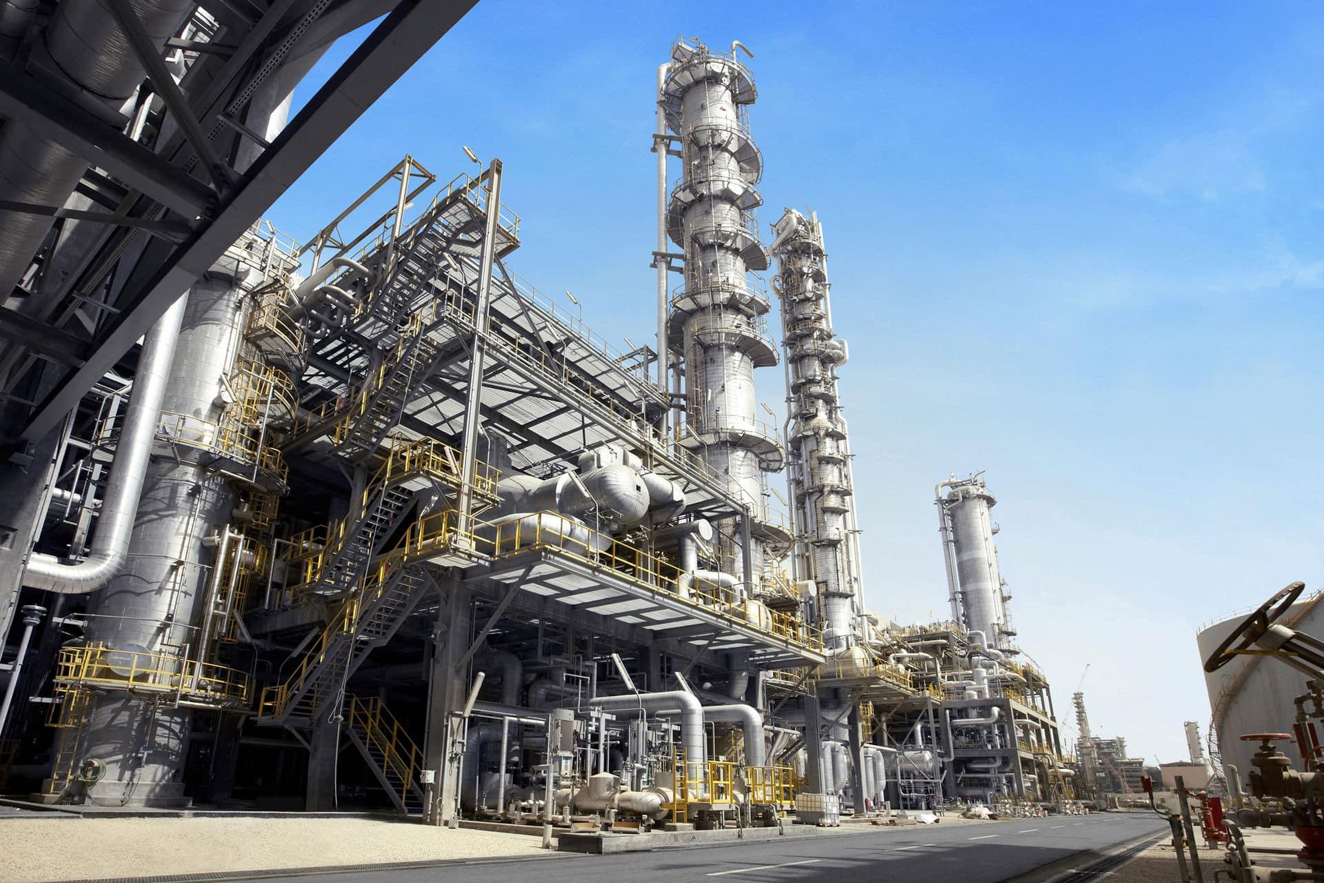 Petrochemical plant (Source: Wikipedia)