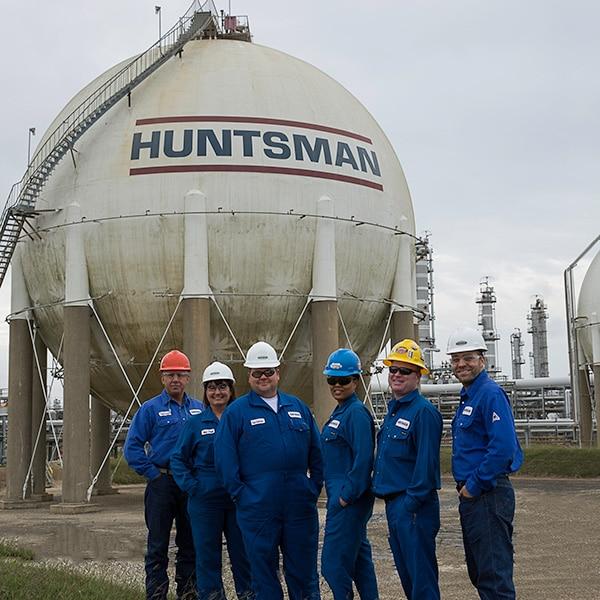 Huntsman Chad and team